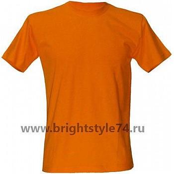 Футболка  оранжевая
