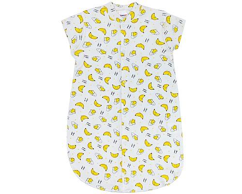 Спальник для новорожденных, бананчики