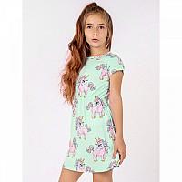 Платье для девочки, единорожки, бирюзовое