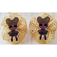 Резиночка для волос, куколка пчелка