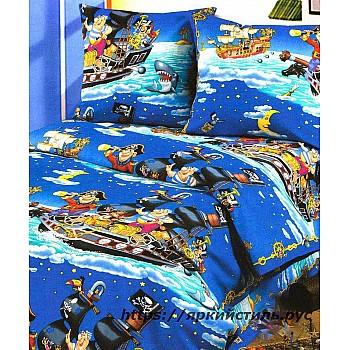 Комплект постельного белья Пираты