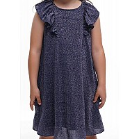 Платье из мерцающего трикотажа