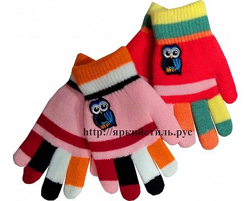 Перчатки детские Совушка