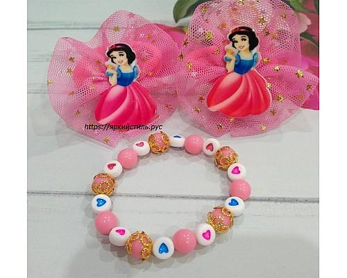 Набор резиночек с браслетом, Принцесса