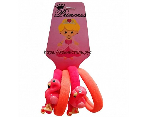 Набор резиночек, фламинго