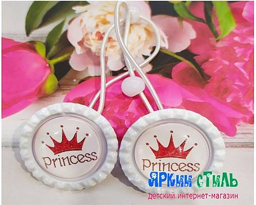 Набор резинок, принцесса, 2 шт.