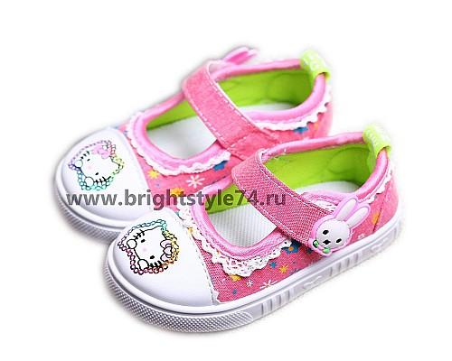 Туфли Китти, розовые